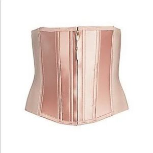 Spanx bustier size small pink
